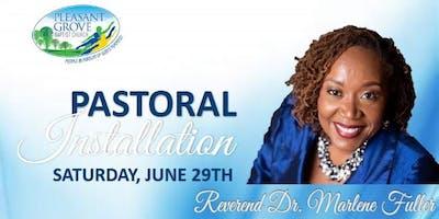 Pastoral Installation Service - Rev. Dr. Marlene Fuller