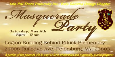 Masquerade: presented by the Beta Gamma Omega chapter of Iota Phi Theta