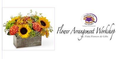 Thanksgiving Flower Arrangement Workshop