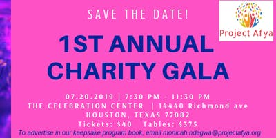 Project Afya's 1st Annual Charity Gala