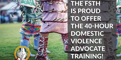 Missing & Murdered Indigenous Women (MMIW)- 40-Hour Domestic Violence Advocate Training -English