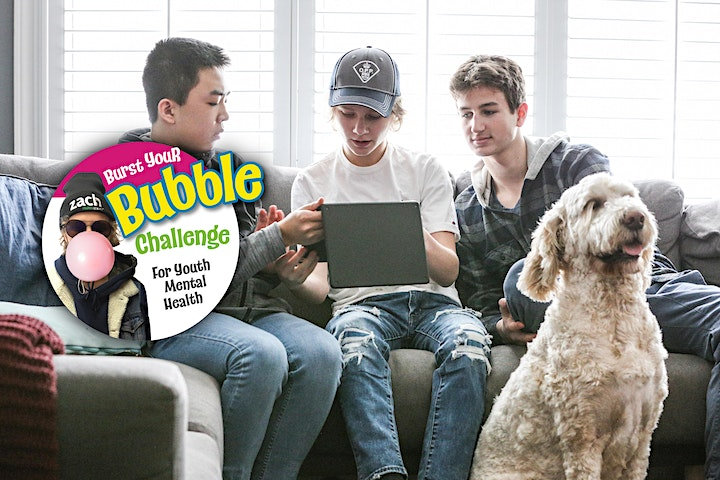 Burst Your Bubble Challenge for Youth Mental Health image