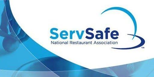 October 2019 ServSafe Certification Course