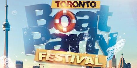 TORONTO BOAT PARTY FESTIVAL 2019 | SATURDAY JUNE 29TH tickets