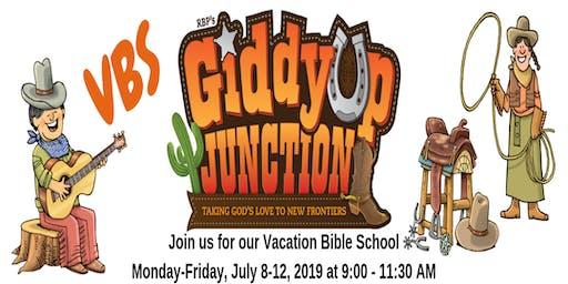 Giddyup Junction Vacation Bible School