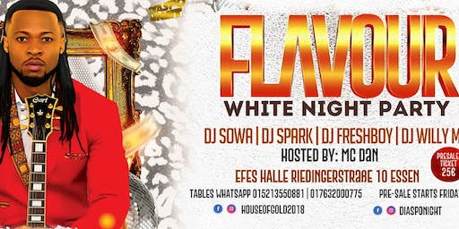 FLAVOUR LIVE IN WHITE NIGHT PARTY