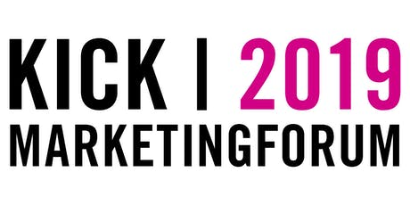 KICK Marketing Forum 2019 Tickets