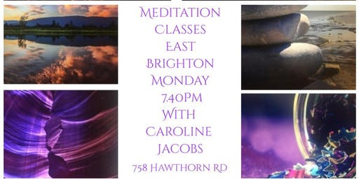 Meditation Classes with Caroline Jacobs in East Brighton