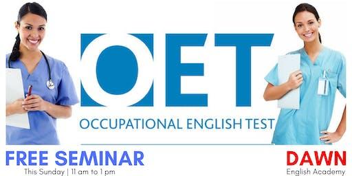 Free Seminar on OET