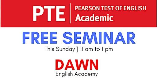 Free Seminar on PTE
