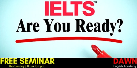 Free Seminar on IELTS tickets