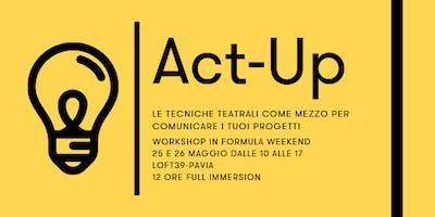 Act-Up incontro di presentazione
