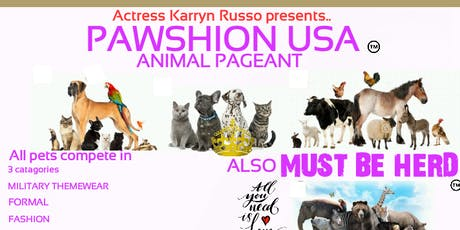 Pawshion USA Pet  Pageant tickets