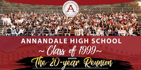 Annandale High School Class of 1999 - The 20 Year Reunion tickets