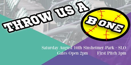 Throw Us a Bone - Local Celebrity Softball Fundraiser tickets