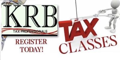 KRB TAX PROFESSIONALS TAX CLASS