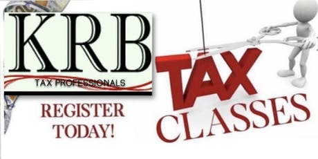 KRB TAX PROFESSIONALS TAX CLASS tickets