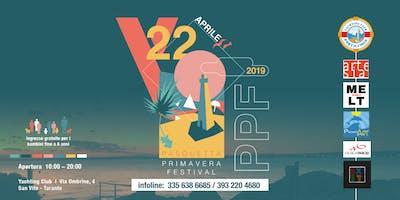 PPF - Pasquetta Primavera Festival @ Yachting Club - San Vito - Taranto