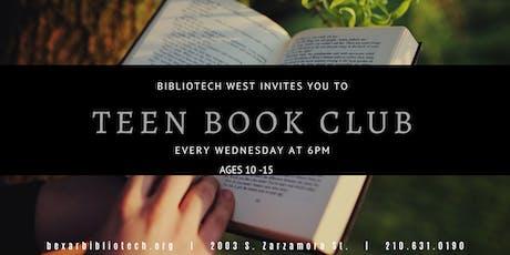 Teen Book Club tickets