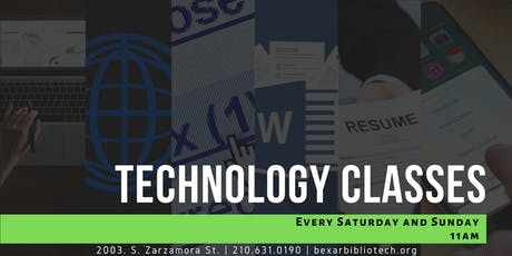 Technology Classes tickets
