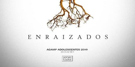 ACAMP ADOLESCENTES 2019 ingressos