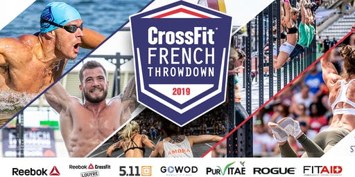 CrossFit® French Throwdown 2019 - Spectator Tickets
