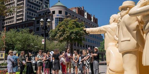Journées des arts Golden Montréal 2019: Visites guidées