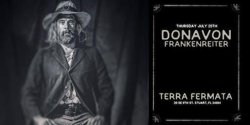 """DONAVON FRANKENREITER """"The Record Player Tour"""" - STUART"""