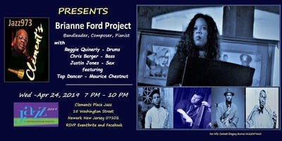 Jazz973 Presents Brianne Ford Group at Clements Pl
