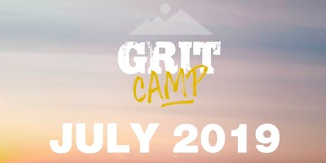 GritCAMP 2019! tickets