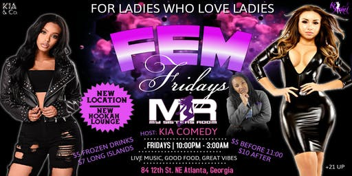Fem Fridays at NEW MSR Lesbian Bar