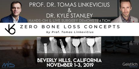 Zero Bone Loss Concepts in the Digital & Guided Surgery Workflows (Hands-on and Live Surgery Demonstration) tickets