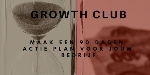 GrowthCLUB: Jouw ACTIEplan voor de komende 90 dagen