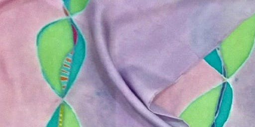 Silk Scarf Painting Workshop: Jun 23, 11:30am-3:00pm