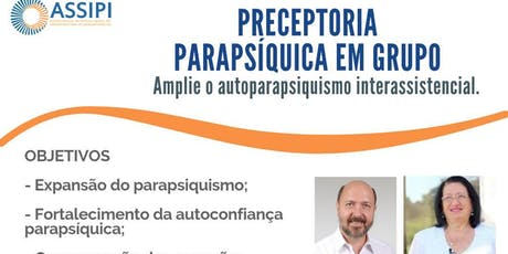 Preceptoria Parapsíquica em Grupo ingressos