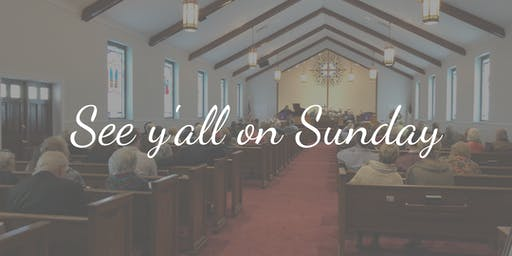 Sunday Service at HUMC