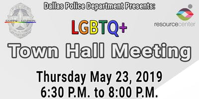 Dallas PD- LGBTQ+ Town Hall Meeting