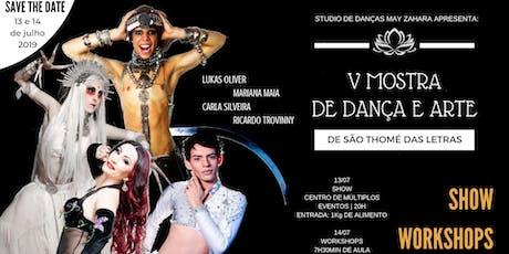 WORKSHOPS - V Mostra de Dança e Arte de São Thomé das Letras tickets