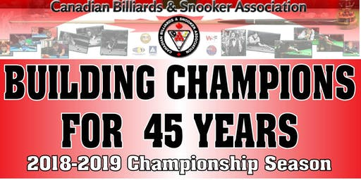 2019 Canadian Pool Championships