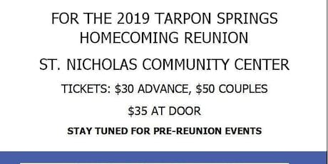TARPON SPRINGS HOMECOMING REUNION OCTOBER 12TH, 2019. tickets