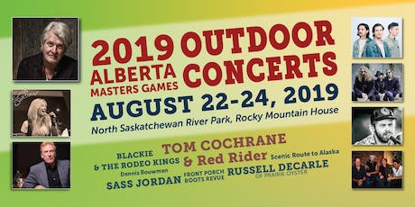 Outdoor Concerts & Beer Gardens (General Public), Rocky Mountain House, AB tickets