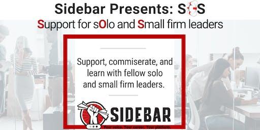 Sidebar Presents: SOS