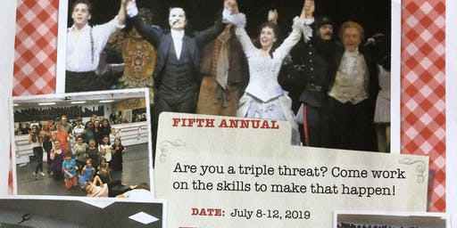 """Copy of  5th annual Summer """"Triple Threat"""" Broadway Camp with Broadway Actor and more!"""