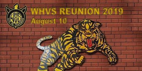 WHVS Reunion 2019 - Welland High & Vocational tickets