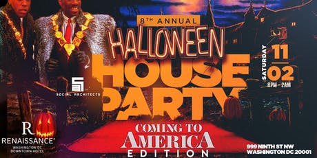 "8TH ANNUAL HALLOWEEN HOUSE PARTY ""COMING TO AMERICA EDITION"" tickets"