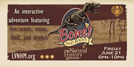 Bones and Booze tickets