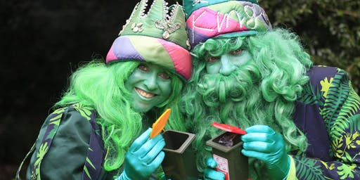 King and Queen of Green - Holiday Theatre Fun