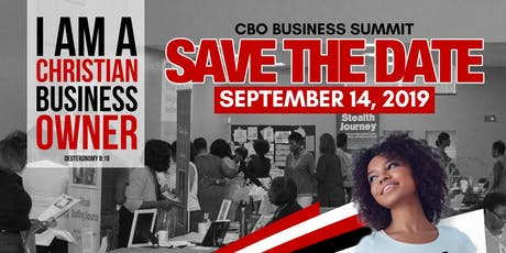 CHRISTIAN BUSINESS OWNERS (CBO) SUMMIT tickets