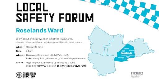 Roselands Local Safety Forum 2019