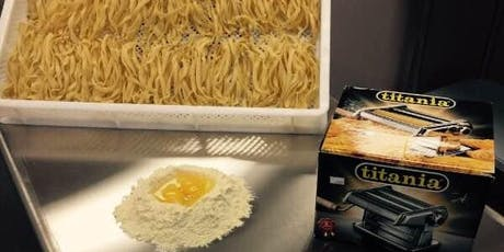 Hands-On Pasta making from Scratch/ Fettuccine and Linguini   tickets